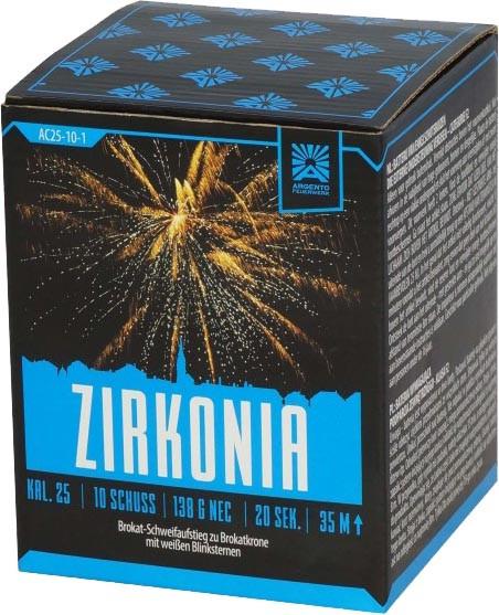 Argento Zirkonia 10-Schuss