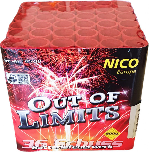 Nico Out of Limits 36-Schuss