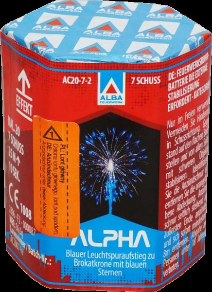 Argento Alpha 7-Schuss