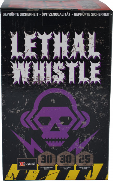Xplode Lethal Whistle 25-Schuss