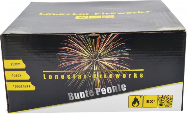 Lonestar LS-F2-100-16 Bunte Peonie 100-Schuss