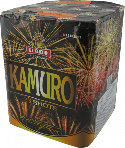EL GATO Kamuro 25-Schuss