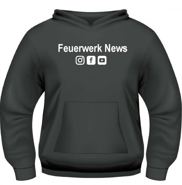 Pyro Wear Feuerwerk.News Hoodie