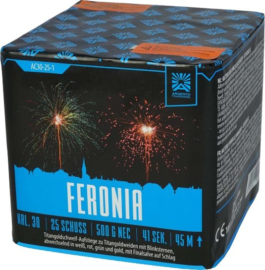 Argento Feronia 25-Schuss