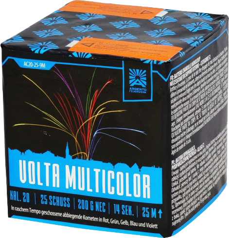 Argento Volta Multicolor 25-Schuss