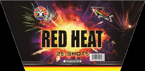 Panda Red Heat 25-Schuss