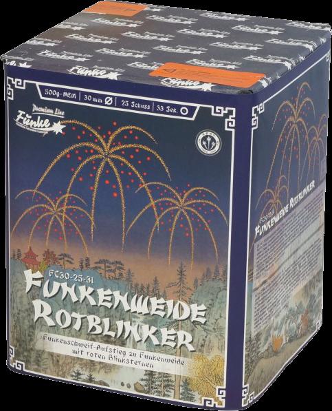 Funke Funkenweide Rotblinker 25-Schuss