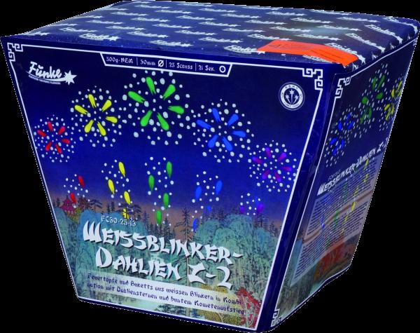 Funke Weissblinker-Dahlien Z-2 25-Schuss