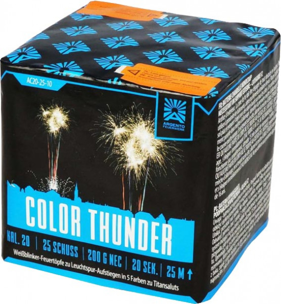 Argento Color Thunder 25-Schuss