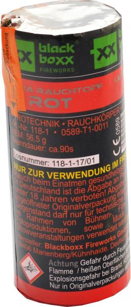Blackboxx Ultra Rauchtopf Rot