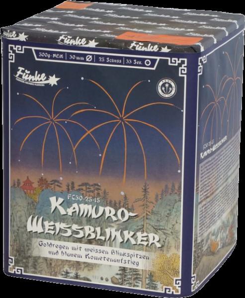 Funke Kamuro Weissblinker 25-Schuss