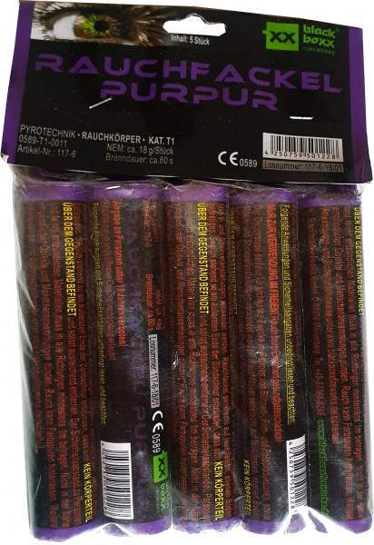 Blackboxx Rauchfackel Purpur