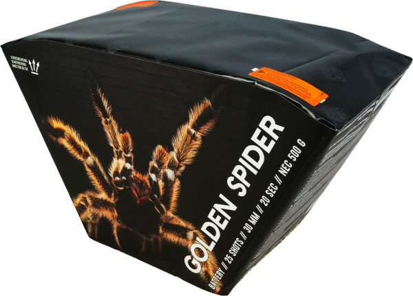 PyroCentury Golden Spider 25-Schuss