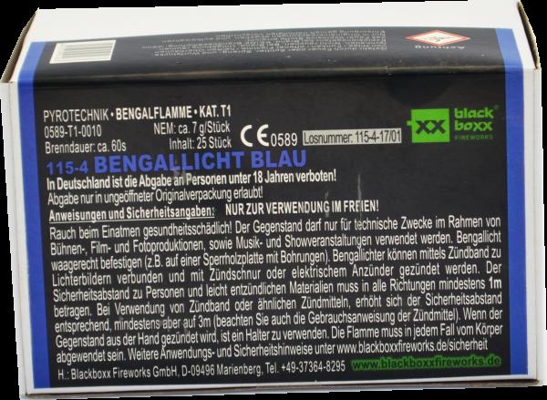 Blackboxx Bengallicht Blau