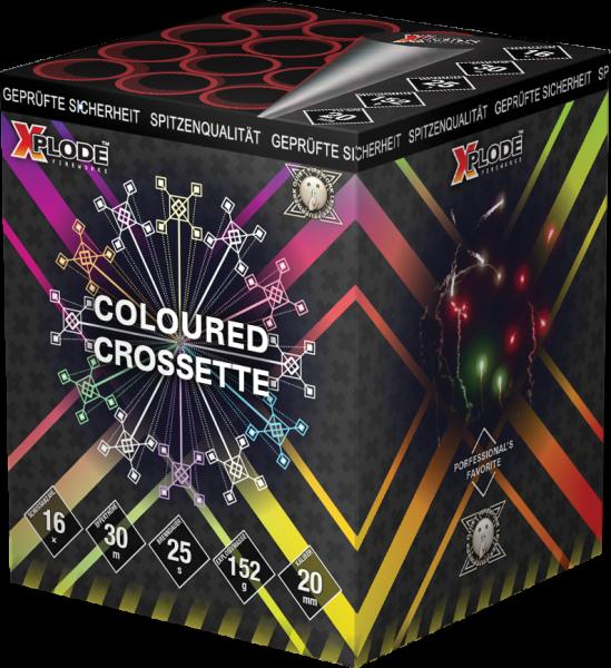 Xplode Coloured Crossette 16-Schuss