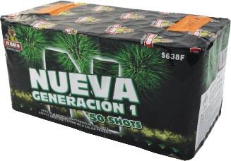 EL GATO Nueva Generation I 50-Schuss