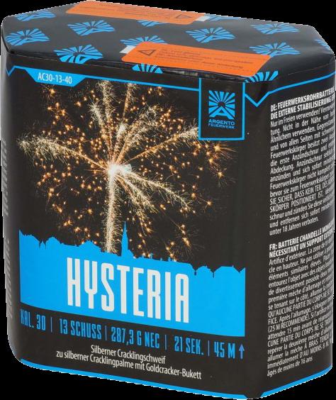Argento Hysteria 13-Schuss
