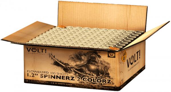 """VOLT! 1.2"""" Spinnerz 2 Colorz 100-Schuss"""