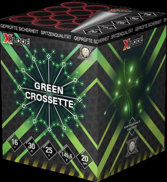 Xplode Green Crossette 16-Schuss