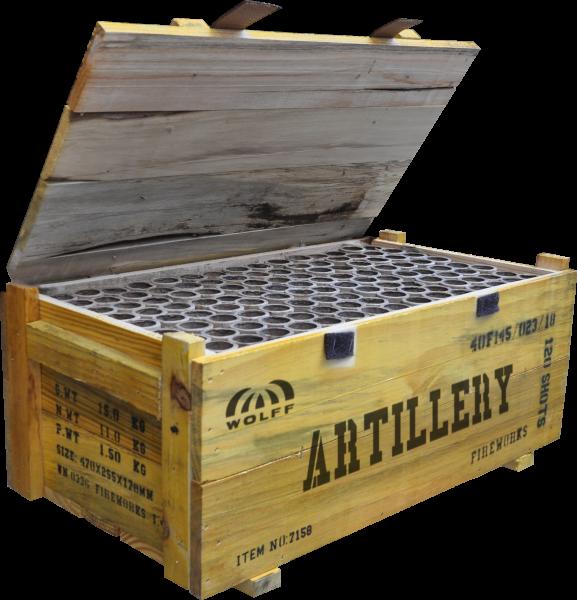 Wolff Artillery 120-Schuss