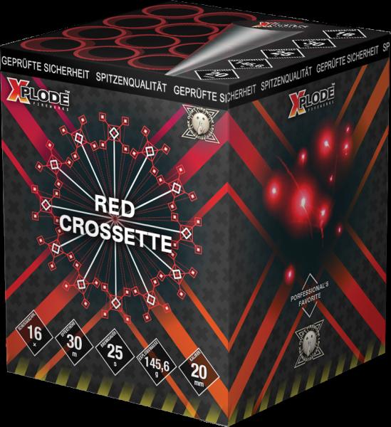 Xplode Red Crossette 16-Schuss