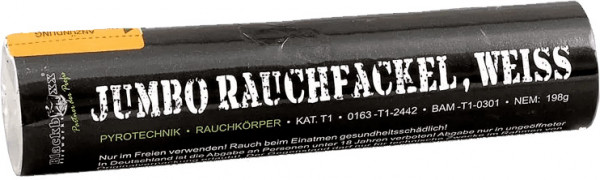 Blackboxx Jumbo Rauchfackel Weiß