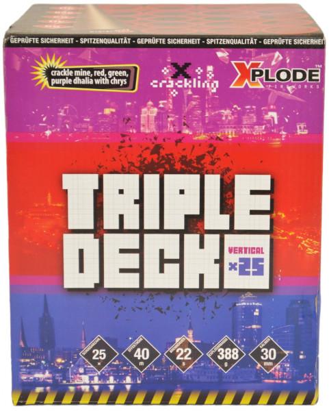 Xplode Triple Deck 25-Schuss