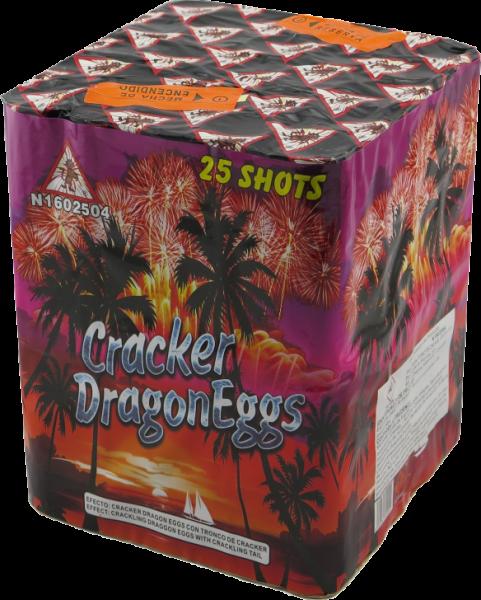 EL GATO Cracker Dragon Eggs 25-Schuss
