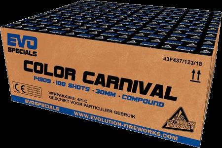 Evolution Color Carnival 108-Schuss