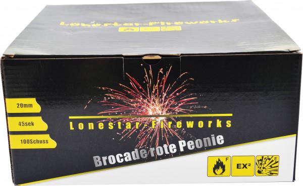 Lonestar LS-F2-100-02 Brokat/Rote Peonie 100-Schuss
