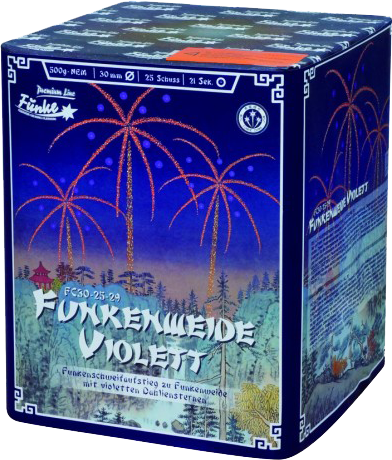 Funke Funkenweide Violett 25-Schuss