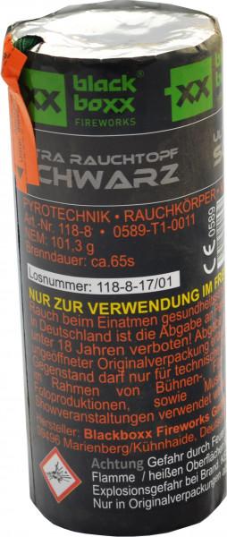 Blackboxx Ultra Rauchtopf Schwarz