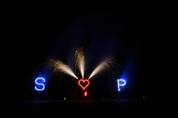 Lichterbild Herz ♥