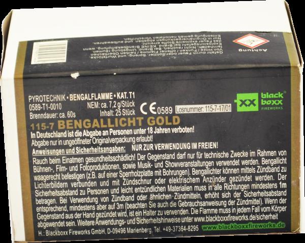 Blackboxx Bengallicht Gold