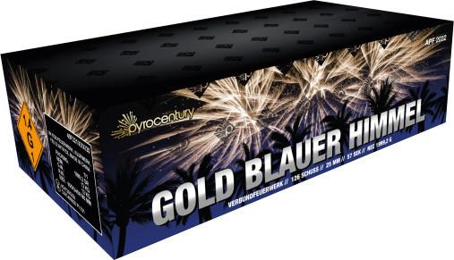 PyroCentury Gold Blauer Himmel 126-Schuss