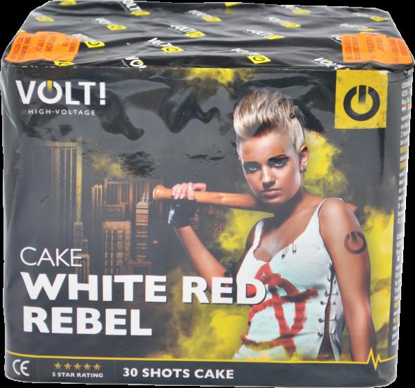VOLT! White Red Rebel 30-Schuss