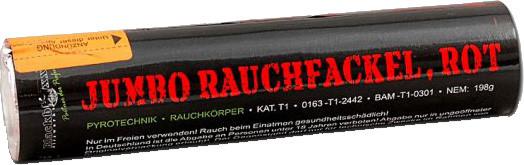 Blackboxx Jumbo Rauchfackel Rot