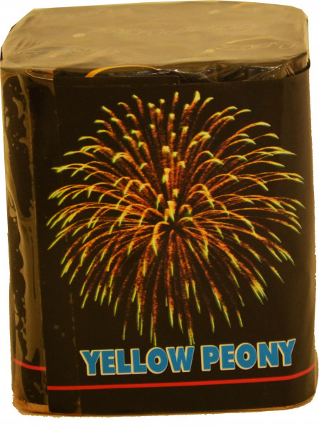 Triplex Yellow Peony 9-Schuss