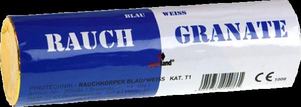 Pyroland Doppelrauch Blau/Weiß