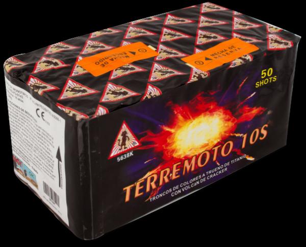 EL GATO Terremoto 10sec 50-Schuss